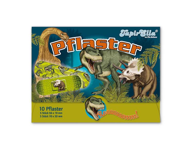 Barnplåster med dinosaurier