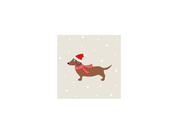 Julservetter - Julhund
