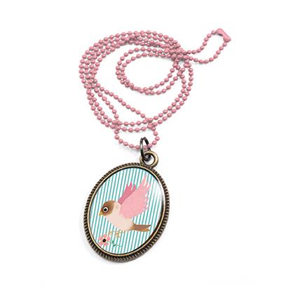 Vackert litet halsband - Fågel