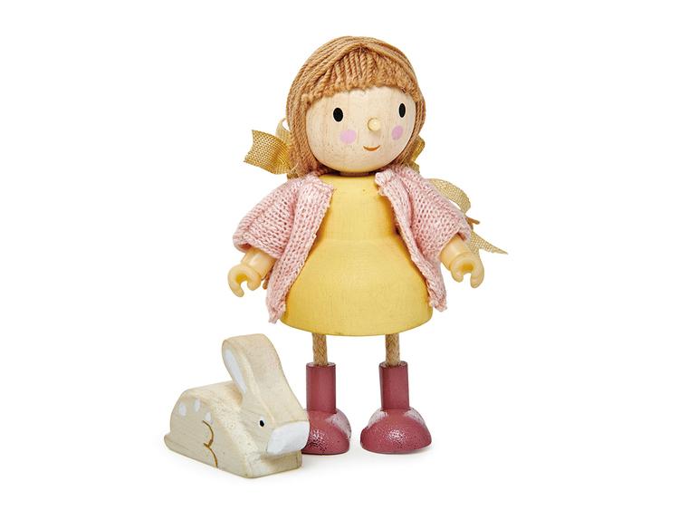 Flicka med kanin från Tender Leaf Toys