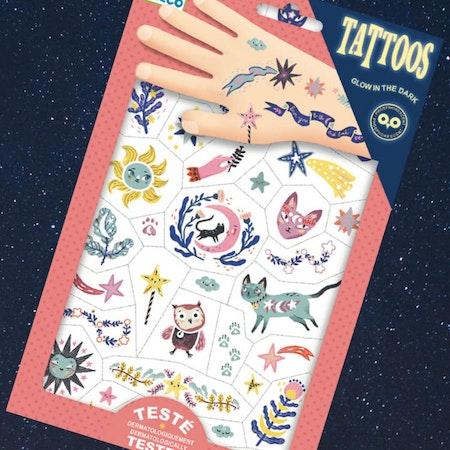 Tatueringar som lyser i mörkret - Sweet dreams