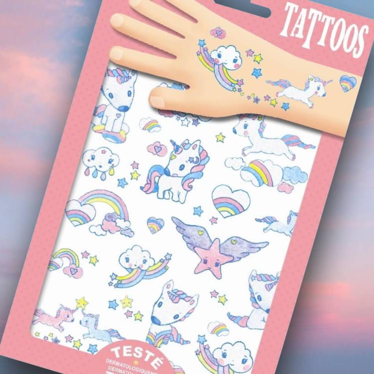 Tatueringar - Enhörningar
