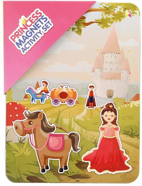 Magnetäventyr med prinsessor och prinsar