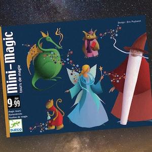 10 olika magiska korttrix i en vacker ask