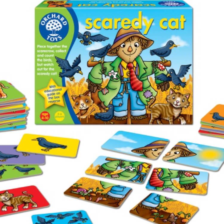 Fågelskrämman - Spelet där du ska akta dig för katten