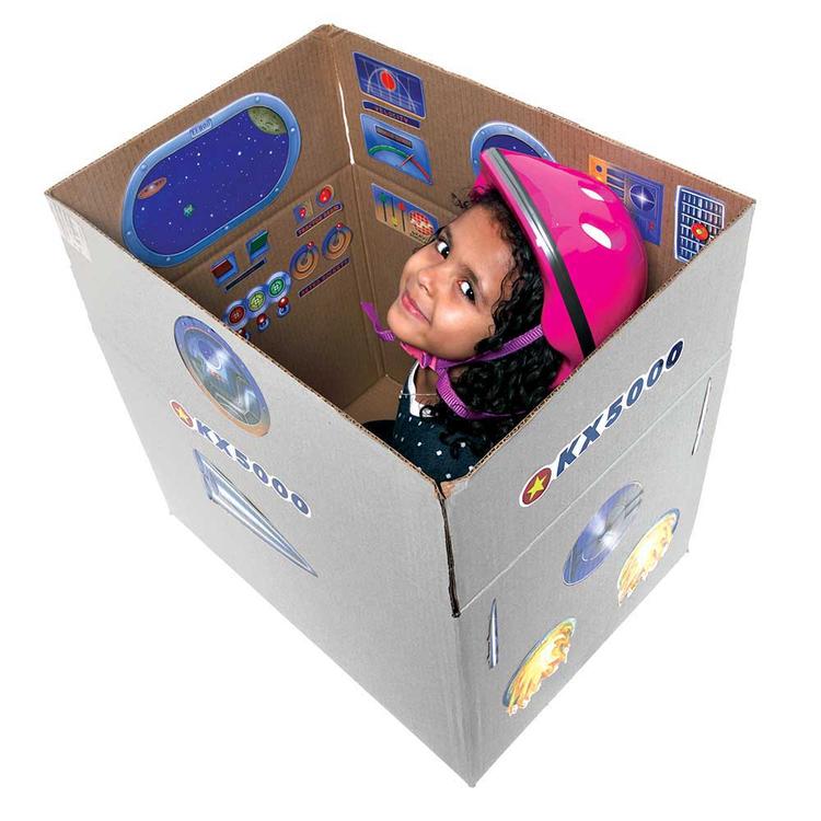 Skapa ditt eget rymdskepp - Återvinning