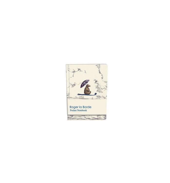Liten anteckningsbok - Björn på flygande matta