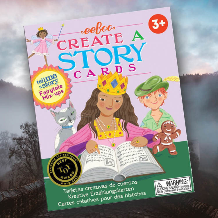 Berätta en saga - Ett spel om att skapa din egen berättelse (Sagoblandningen)