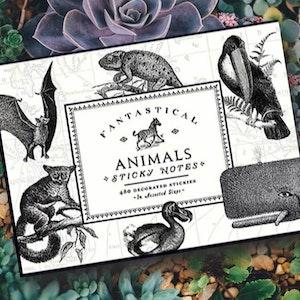 Sticky notes - Vintage djur