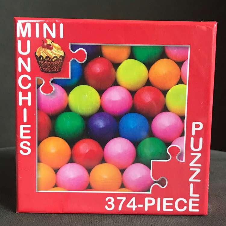 Minipussel 375 bitar bubbelgum tuggummi
