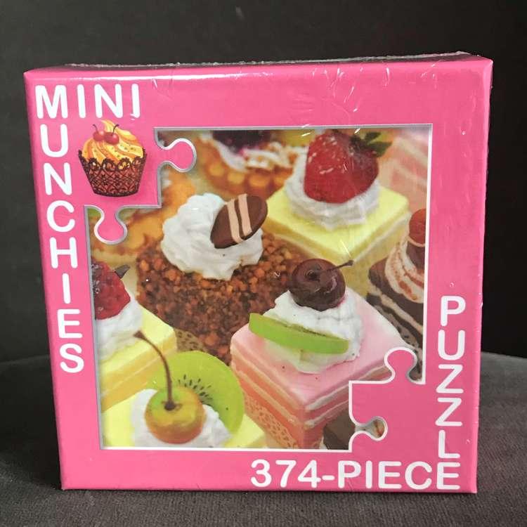 Minipussel 375 bitar tårtor och bakelser