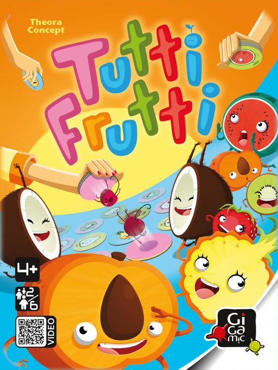 Tutti Frutti - Spelet som är fullt av vitaminer!