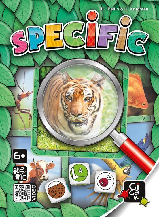 Barnspel Specific - Kan du hitta det rätta djuret?