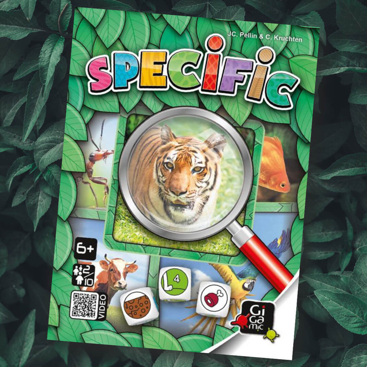 Specific - Kan du hitta det rätta djuret?