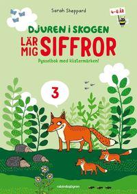 Djuren i skogen lär mig... - Flera olika pysselböcker att välja bland