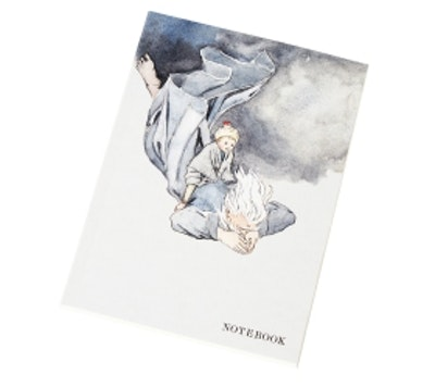 Anteckningsbok - Nordanvinden (Elsa Beskow)