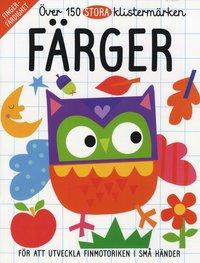 Pysselbok för de mindre barnen - Färger