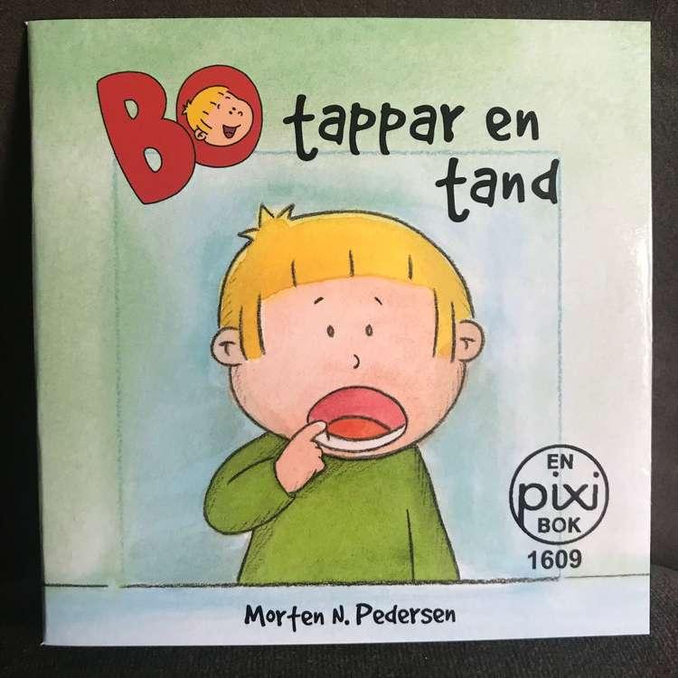 Pixiböcker - Bo tappar en tand(fraktfritt)