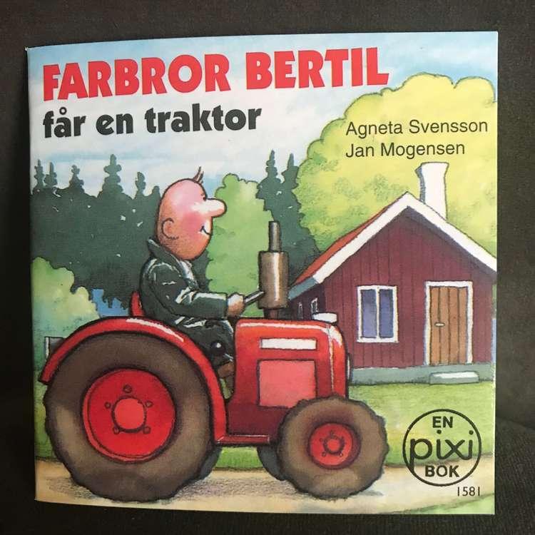 Pixiböcker - Farbror Bertil får en traktor