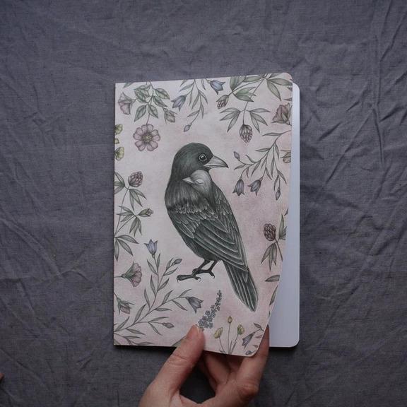 Anteckningsbok - Kråkor