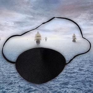 Piratlapp för ögat - Fjäderlätt (Fraktfritt)