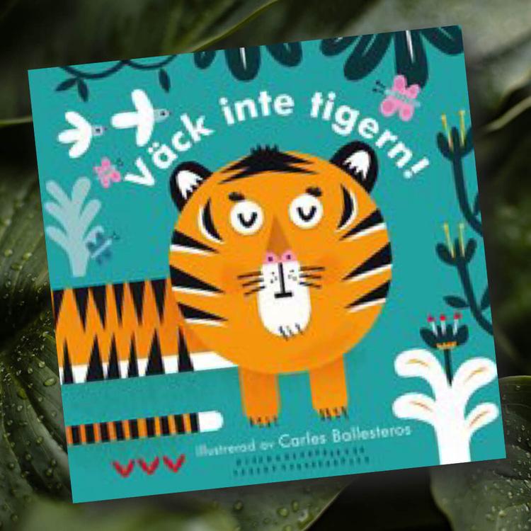 Väck inte tigern! - Med överraskande persienn-effekt