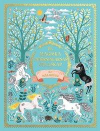 De magiska enhörningarnas sällskap - En målarbok