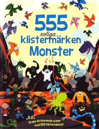 Pysselbok med klistermärken - Monster (555 klistermärken)