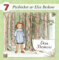 Pixiböcker - 7 böcker av Elsa Beskow