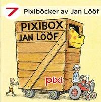Pixiböcker - 7 böcker av Jan Lööf