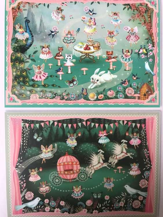 Gnuggisar - I älvornas rike (In fairyland) från Djeco
