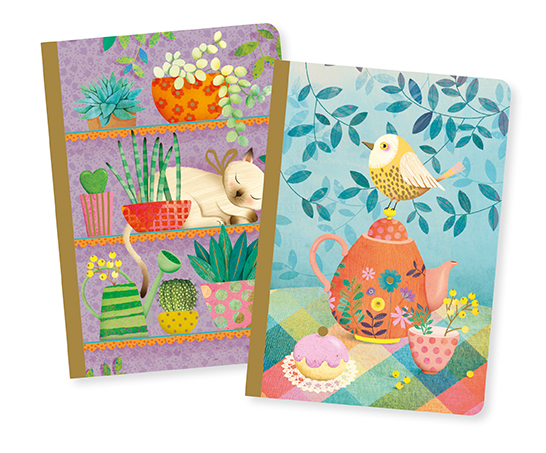 Marie Little notebook från Djeco (2 st)