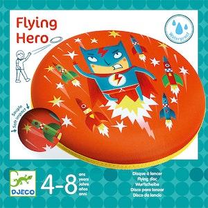 Frisbee, vattentålig i mjukt material - Superhjälte