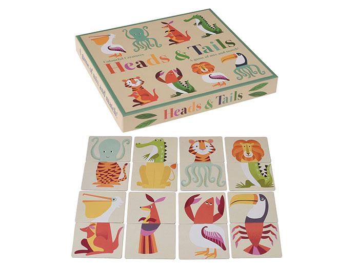 Heads & Tails - Spelet där du ska para ihop djuren