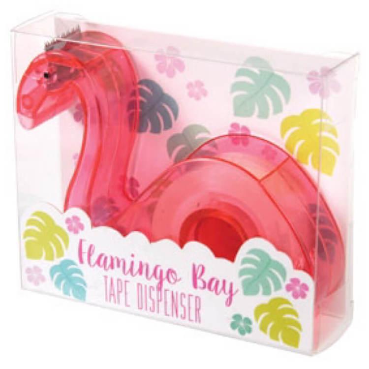 Tejphållare+tejp - Flamingo