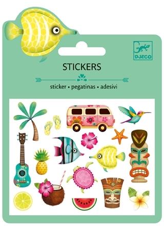 Mini Stickers Puffy - Hawaii från Djeco
