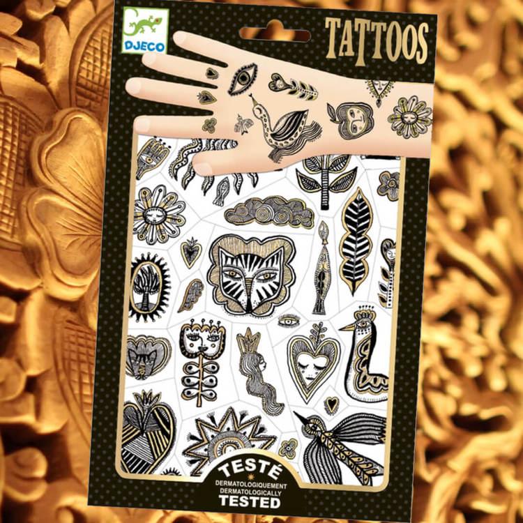 Tatueringar -  Golden chic