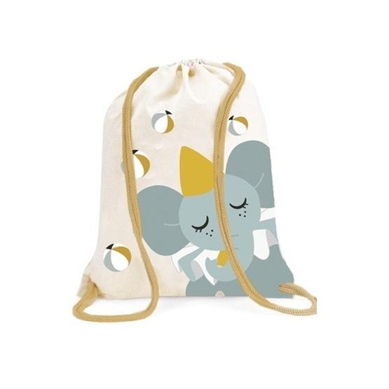 Härlig gymnastikpåse med elefant från Roommate