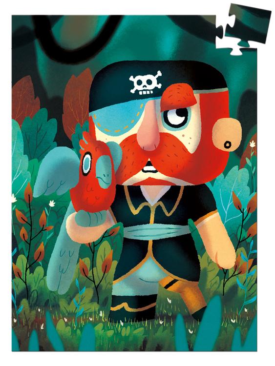 Minipussel - Piraten (60 bitar) från Djeco