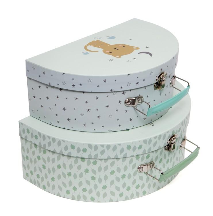 Fina väskor för barn från Petit Monkey - Gröna