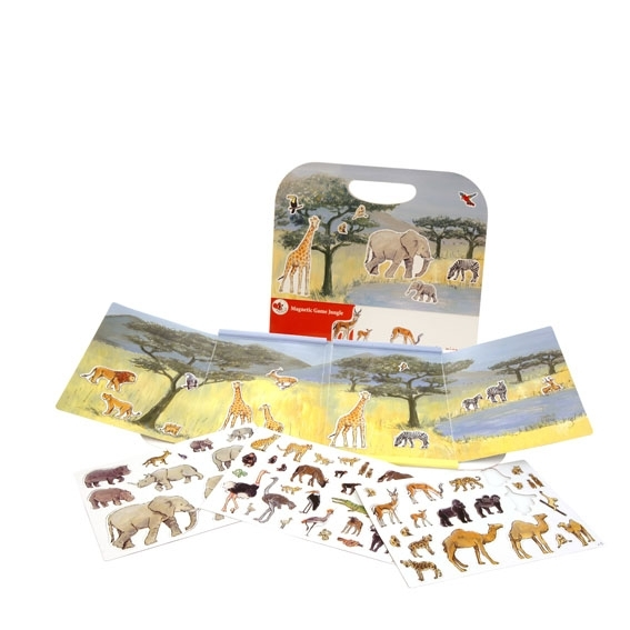 Magnetisk lek - Djuren på savannen