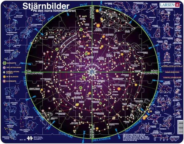 Pussel - Lär dig stjärnbilderna