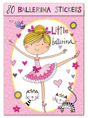 Klistermärken - Ballerina
