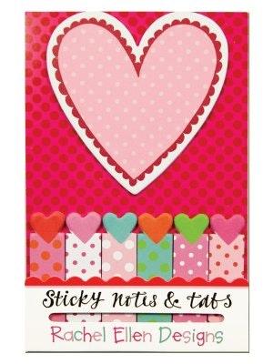 Sticky notes - Varma hjärtan