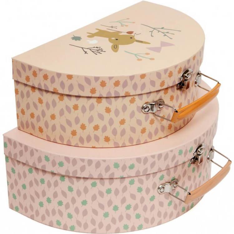 Fina väskor - Rosa/Gul