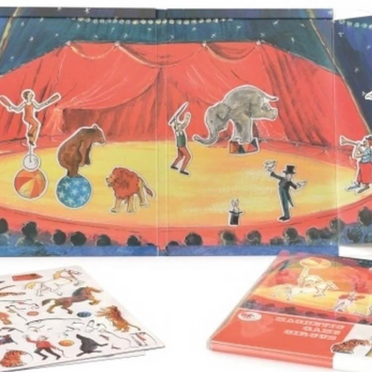 Magnetisk lek - Cirkus från Egmont Toys