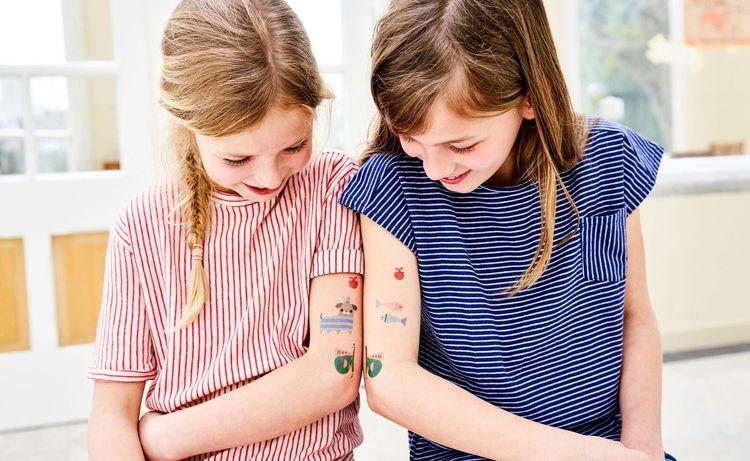 Tatueringar som lyser i mörkret - Lejon