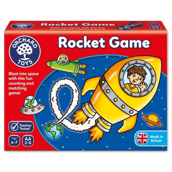 Rocket game - Spel där du samlar loopar i rymden