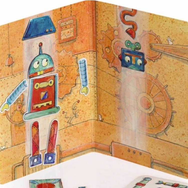 Magnetisk lek - Robot