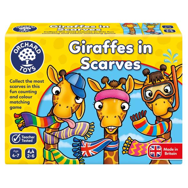 Giraffer i halsdukar - Spel där det gäller att ha huvudet på skaft